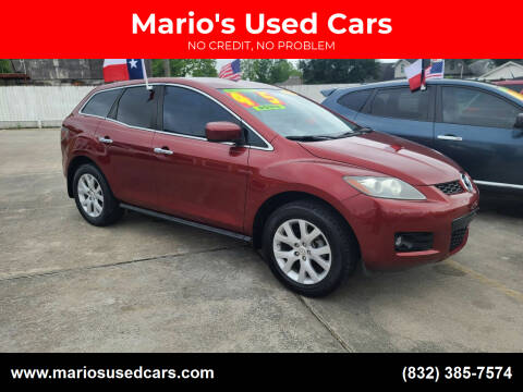 2008 Mazda CX-7 for sale at Mario's Used Cars - South Houston Location in South Houston TX