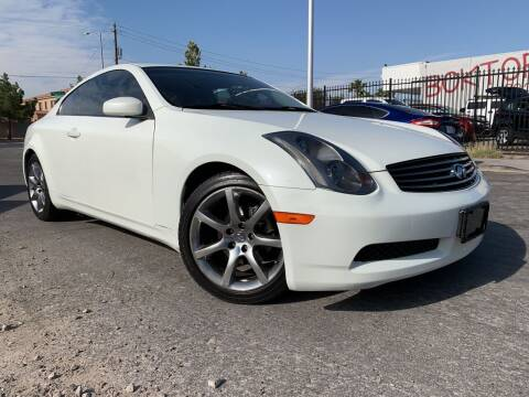 2003 Infiniti G35 for sale at Boktor Motors in Las Vegas NV