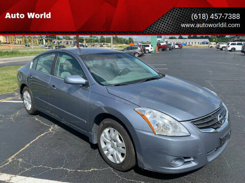 2011 Nissan Altima for sale at Auto World in Carbondale IL