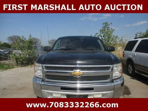 2012 Chevrolet Silverado 1500 for sale at First Marshall Auto Auction in Harvey IL