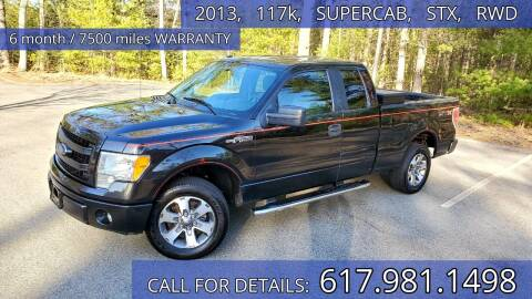 2013 Ford F-150 for sale at Wheeler Dealer Inc. in Acton MA