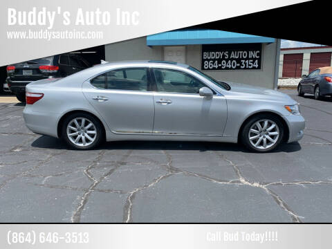 2008 Lexus LS 460 for sale at Buddy's Auto Inc in Pendleton, SC