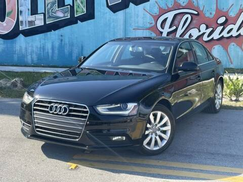 2013 Audi A4 for sale at Palermo Motors in Hollywood FL