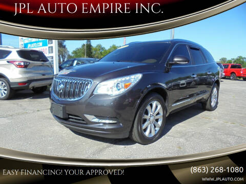 2014 Buick Enclave for sale at JPL AUTO EMPIRE INC. in Auburndale FL
