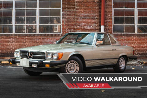 1980 Mercedes-Benz 450 SL for sale at Michael Thomas Motor Co in Saint Charles MO