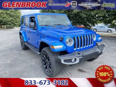 2021 Jeep Wrangler 4xe for sale at Glenbrook Dodge Chrysler Jeep Ram and Fiat in Fort Wayne IN