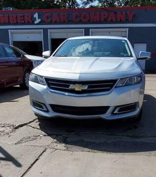 2016 Chevrolet Impala for sale at Number 1 Car Company in Detroit MI