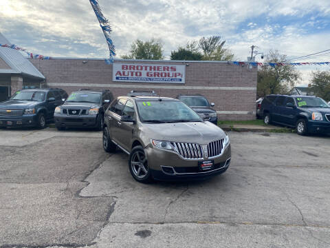 2012 Lincoln MKX for sale at Brothers Auto Group in Youngstown OH