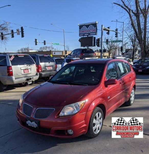 2005 Pontiac Vibe for sale at Corridor Motors in Cedar Rapids IA