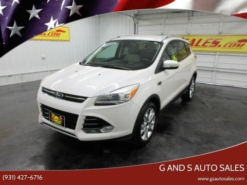 2014 Ford Escape for sale at G and S Auto Sales in Ardmore TN