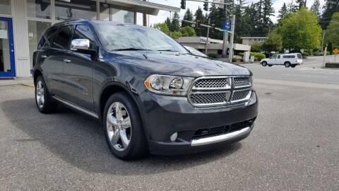 2011 Dodge Durango for sale at Seattle Auto Deals in Everett WA