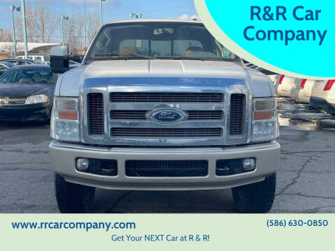 2008 Ford F-350 Super Duty for sale at R&R Car Company in Mount Clemens MI