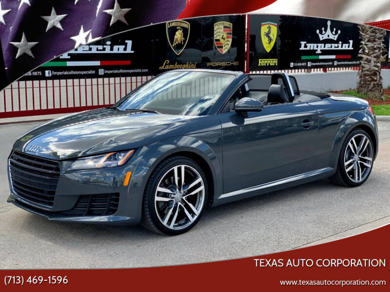 2016 Audi TT for sale at Texas Auto Corporation in Houston TX