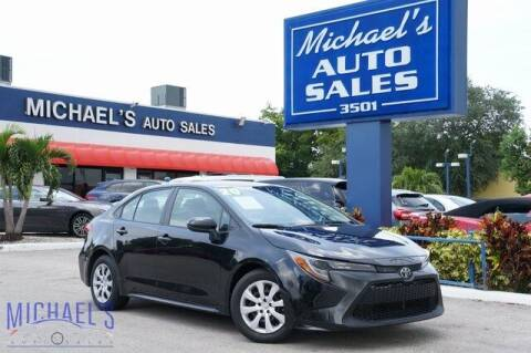 2020 Toyota Corolla for sale at Michael's Auto Sales Corp in Hollywood FL