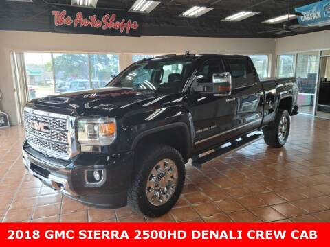 2018 GMC Sierra 2500HD for sale at The Auto Shoppe in Springfield MO