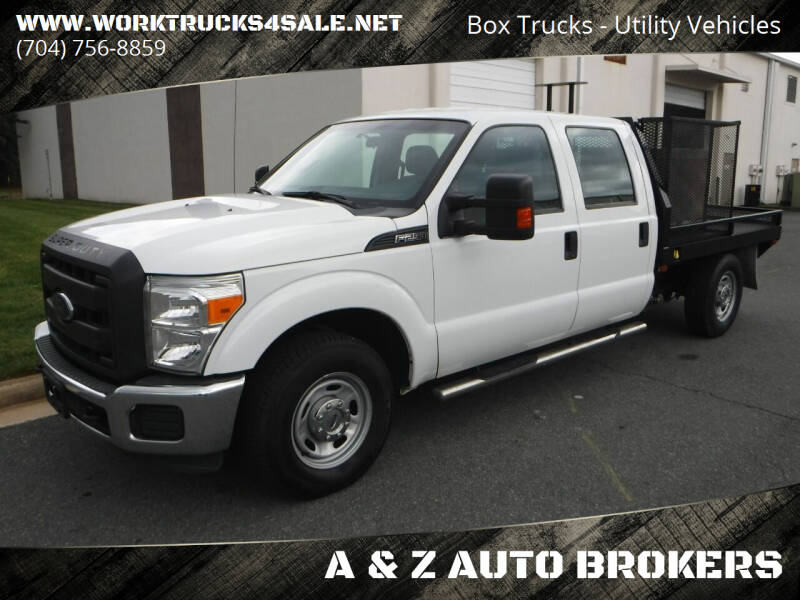 2015 Ford F-250 Super Duty for sale at A & Z AUTO BROKERS in Charlotte NC