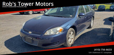 2012 Chevrolet Impala for sale at Rob's Tower Motors in Taneytown MD
