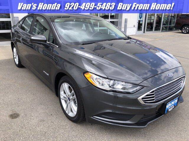2018 Ford Fusion Hybrid for sale in Green Bay, WI