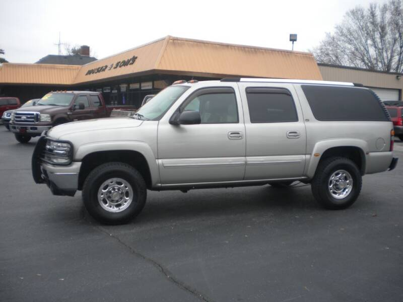 2004 Chevrolet Suburban for sale at Houser & Son Auto Sales in Blountville TN
