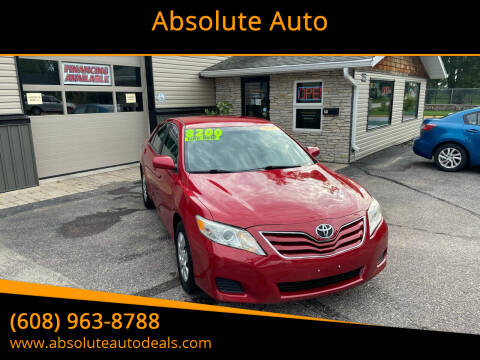 2010 Toyota Camry for sale at Absolute Auto in Baraboo WI