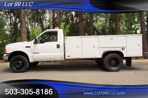 2000 Ford F-450 Super Duty for sale at LOT 99 LLC in Milwaukie OR