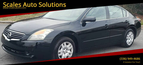 2009 Nissan Altima for sale at Scales Auto Solutions in Madison NC