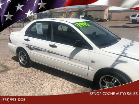 2003 Mitsubishi Lancer for sale at Senor Coche Auto Sales in Las Cruces NM