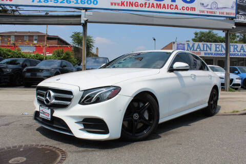 2018 Mercedes-Benz E-Class for sale at MIKEY AUTO INC in Hollis NY