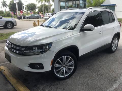 2012 Volkswagen Tiguan for sale at DORAL HYUNDAI in Doral FL