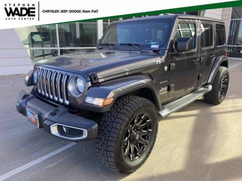 2019 Jeep Wrangler Unlimited for sale at Stephen Wade Pre-Owned Supercenter in Saint George UT