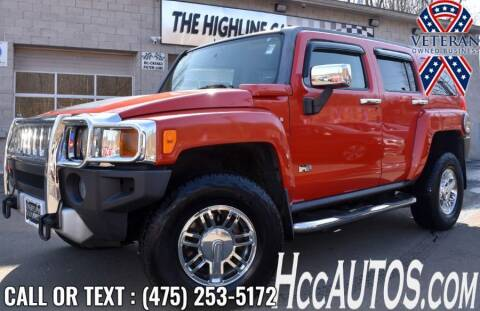 2008 HUMMER H3 for sale at The Highline Car Connection in Waterbury CT