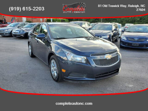 2014 Chevrolet Cruze for sale at Complete Auto Center , Inc in Raleigh NC