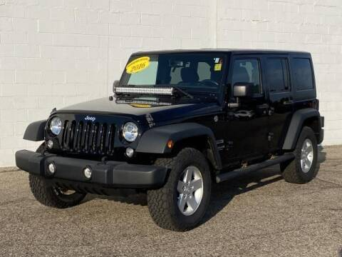 2017 Jeep Wrangler Unlimited for sale at TEAM ONE CHEVROLET BUICK GMC in Charlotte MI
