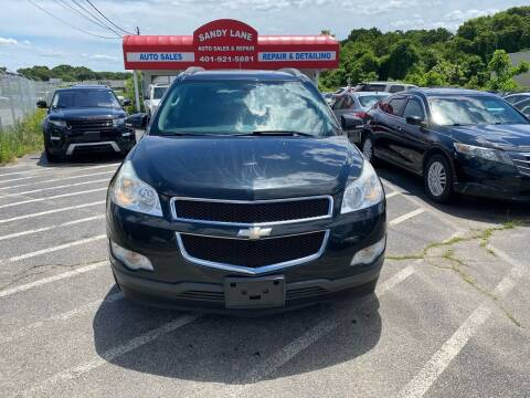 2012 Chevrolet Traverse for sale at Sandy Lane Auto Sales and Repair in Warwick RI
