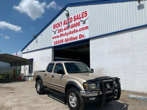2004 Toyota Tacoma for sale at Ricky Auto Sales in Houston TX