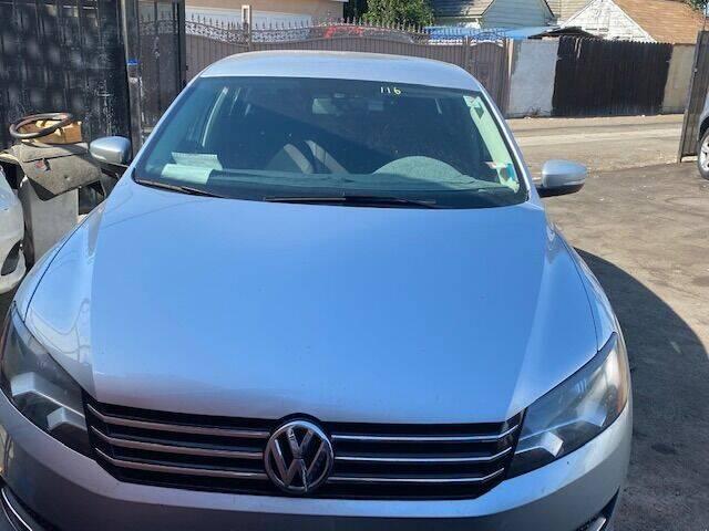 2013 Volkswagen Passat for sale at Affordable Auto Inc. in Pico Rivera CA