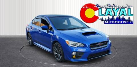 2017 Subaru WRX for sale at Layal Automotive in Englewood CO