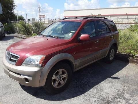2005 Kia Sorento for sale at Easy Credit Auto Sales in Cocoa FL
