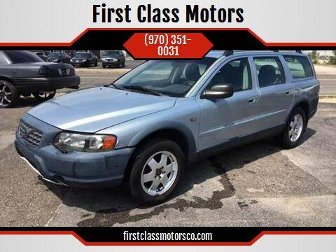 2003 Volvo XC70 for sale at First Class Motors in Greeley CO