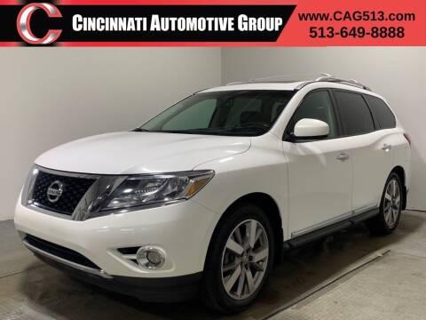 2013 Nissan Pathfinder for sale at Cincinnati Automotive Group in Lebanon OH