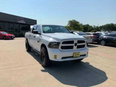 2013 RAM Ram Pickup 1500 for sale at KIAN MOTORS INC in Plano TX