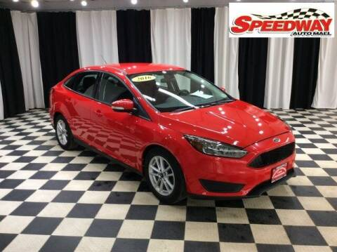 2016 Ford Focus for sale at SPEEDWAY AUTO MALL INC in Machesney Park IL