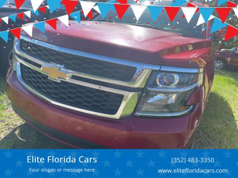 2015 Chevrolet Tahoe for sale at Elite Florida Cars in Tavares FL