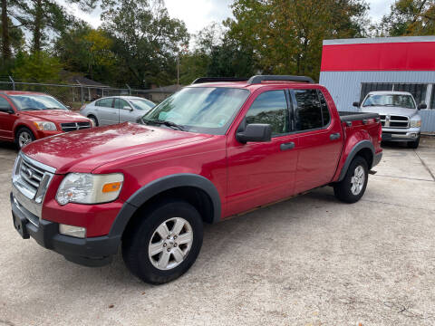 2008 Ford Explorer Sport Trac for sale at Baton Rouge Auto Sales in Baton Rouge LA