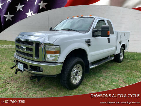 2008 Ford F-350 Super Duty for sale at Dawsons Auto & Cycle in Glen Burnie MD