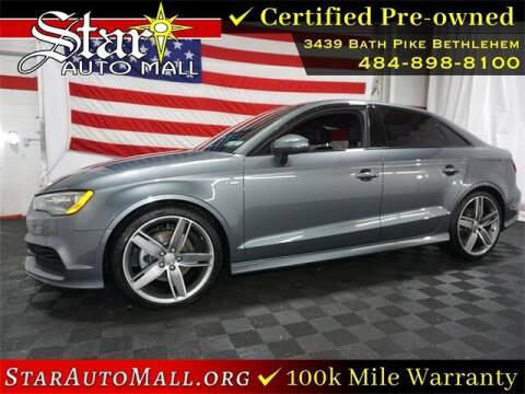2016 Audi A3 for sale at STAR AUTO MALL 512 in Bethlehem PA