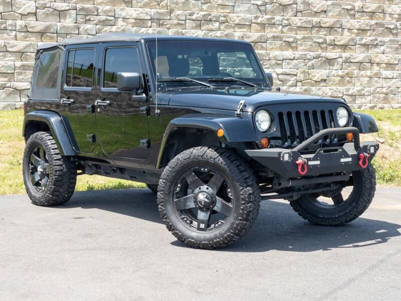2011 Jeep Wrangler Unlimited for sale at Car Hunters LLC in Mount Juliet TN