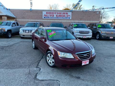 2009 Hyundai Sonata for sale at Brothers Auto Group in Youngstown OH