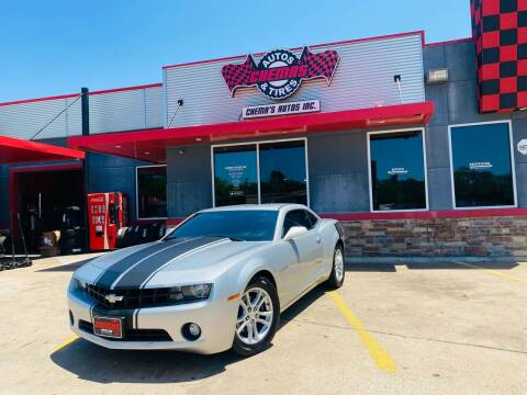 2013 Chevrolet Camaro for sale at Chema's Autos & Tires in Tyler TX