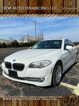 2013 BMW 5 Series for sale at Bad Credit Call Fadi in Dallas TX